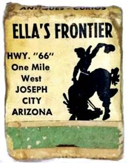 Matchbox advertising Ella's Frontier