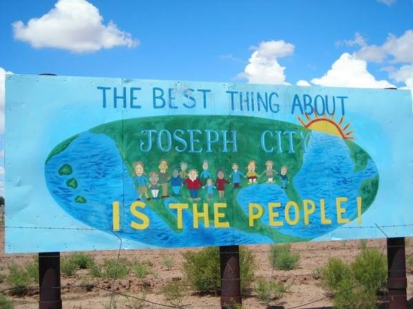The best thing in Joseph City: its people; Joseph City, AZ. Route 66